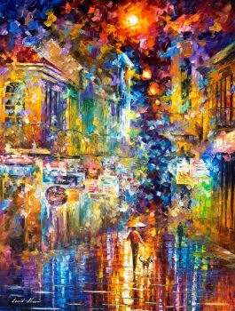The Colors Of Paris by Leonid Afremov