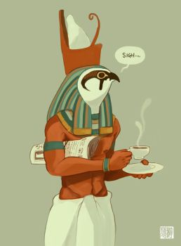 Horus by tohdraws