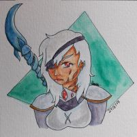 Art trade The-Painted-Assassin by Managodess