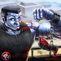 Colossus - Deadpool by Mequetefe