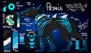 .:CANORA:. Prince Ref 2016 by 50ShadesofPenguin