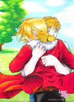 Brother mine_Edward and Alphonse_FMA by LucyMeryChan