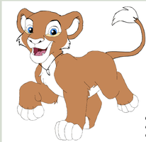 lion by XanderCakes