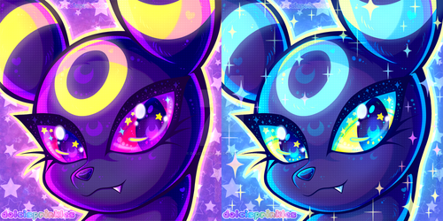 PKMN: Umbreon Icons by Dolcisprinkles