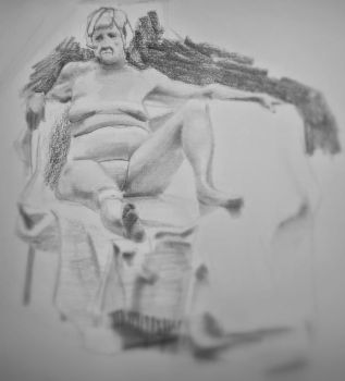 from todays life drawing session................ by popthemelon8