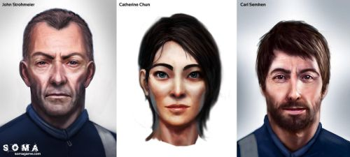 SOMA - John, Catherine and Carl by SethNemo