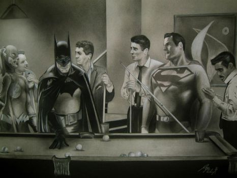 Justice League_Rat Pack by dirtysandart