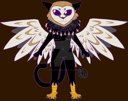 Owly Cat by EmotionlessBlue