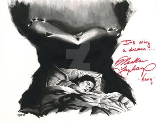 Nightmare On Elm Street - signed by tdastick