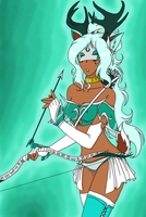 Archer of the Moon by Setsuna-Yena