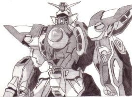 wing gundam by vicious2500
