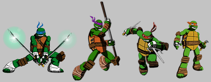 TMNT 2012 by Homey104