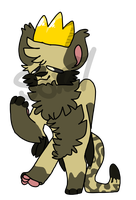 #29 Flufflet - King cheetah by rainbowsoxzy