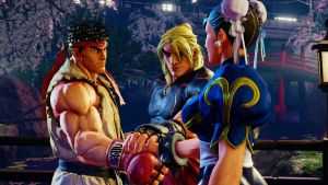 Street Fighter V: Let's Do This by Unicron9