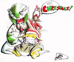 NPC:: Merry Christmas by the-overfiend