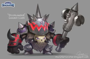 Skylanders Imaginators Doomlander Smasher by MURCHIEMONSTER