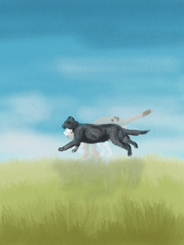 Running by Etherinea