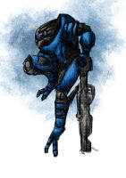 Garrus by walrus-boy