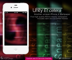 Unity Et cetera iPhone Wallpaper by Snakesan
