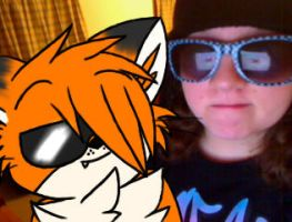 Keighley and I wiff shades ID by KRd1st