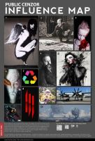 P.Cenzor Influence Map 2011 by PublicCenzor