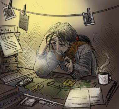 syberia katewalker Working by jameson9101322