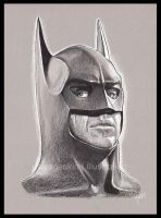 [sketch] Batman by BikerScout