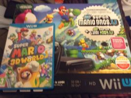 my wii U by BrandyKoopa92