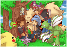 .: Pokemon GANG - Nap Time :. by AquaGD