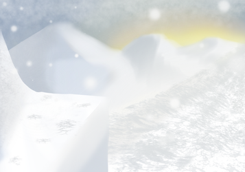 Snowy mountains by Diagonath