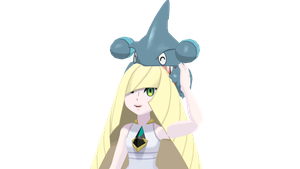 Headcanon AU - Lusamine and Gible