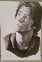 Jared Padalecki by Silvia-Artt