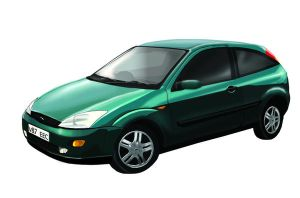 Ford Focus in Illustrator by Louisa911