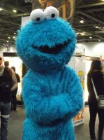 Cookie Monster, MCM Expo London 2012 by Pixie-Aztechia
