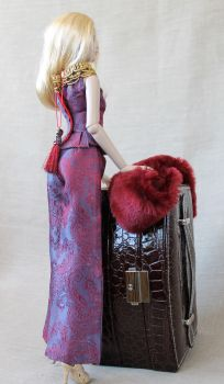 A touch of luxury - handmade outfit by Bussardelka