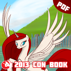 BronyCAN 2013 Convention Guide Book by Firestorm-CAN