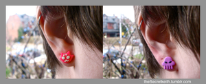 Roxy and Rose Earrings by sparr0