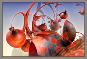 Spheres And Patterns II by gannjondal