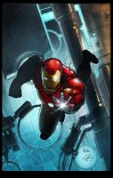 Iron Man Symantec Cover by ChekydotStudio