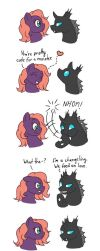MLP - Heart Nom by merrypaws