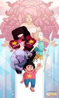 Steven Universe (w/video process) by clayscence