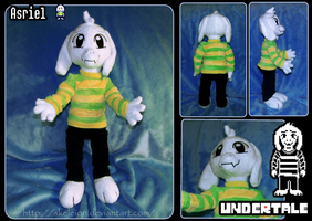 Undertale: Asriel Plush by Skeleion