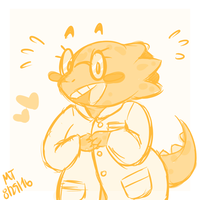 It Is An Alphys by NajikaSun