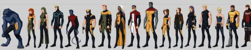 X-men Costume Redesigns by Hiroki8