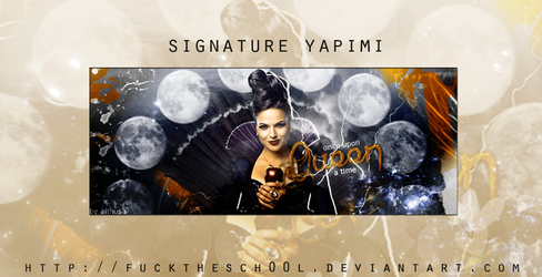 Signature Making by Fuckthesch00l