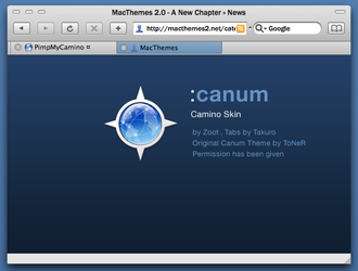 Canum for Camino by ZootX