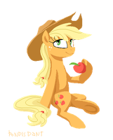 Applejack by pondis-dant