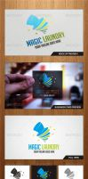 Magic Laundry Logo Template - Graphicriver by Changyik