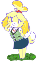 Isabelle by Espeonizzle