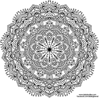 Krita Mandala 62 by WelshPixie